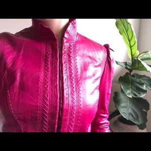Vintage Betsey Victorian Leather Jacket